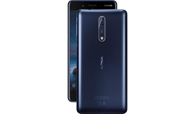 Nokia 8 TA-1052 64GB Tempered Blue, Dual Sim, 5 4