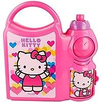 Stor Top Handle Hello Kitty Hearts Bottle Set
