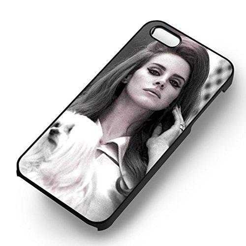 Beautiful Lana Coque Iphone 6 et Coque Iphone 6s Case (Noir Boîtier en plastique dur) K6Q6OL