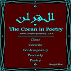 The Coran in Poetry: Volume 1, Chapters (Juz/Sipaara) 1,2 & 3: Clear Concise Contemporary, Precisely Poetry Hörbuch von Shariq Ali Khan Gesprochen von: Shariq Ali Khan
