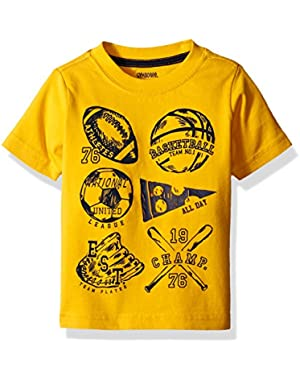 Baby Boys' Center Graphic Tee