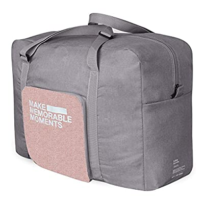 8357a1e09c7e DEKINMAX Foldable Travel Bag, Folding Luggage Bag Water Resistant ...