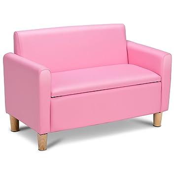 CASART Sofá de doble asiento para niños - Sillón para niños ...