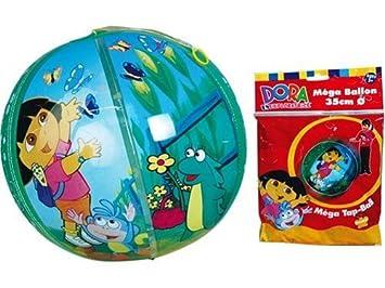 Dora la Exploradora Tap Ball - Balón Hinchable con Cuerda ...
