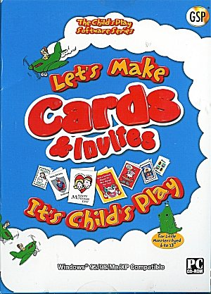 Let's Make Cards & Invites from PC Treasures (PC CD Boxed)