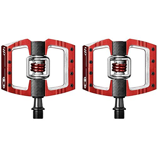 - Crank Brothers Mallet DH Race Pedal Red