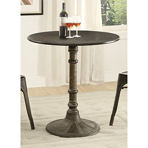 Oswego Round Bistro Table Bronze (Bronze Dining Table Round)
