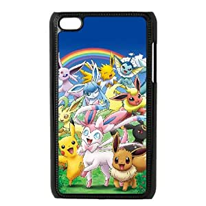 Ipod Touch 4 Csaes phone Case Pokemon XJL93180