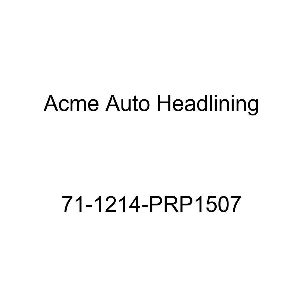 1971 Oldsmobile Delta 88 4 Door Hardtop 5 Bows Acme Auto Headlining 71-1214-PRP1507 Red Replacement Headliner