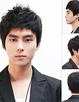 XH@G los hombres no convencionales peluca pelucas de cabello, Japón y Corea fabricantes