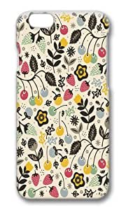 Apple Iphone 6 Case,WENJORS Adorable Very Berry Hard Case Protective Shell Cell Phone Cover For Apple Iphone 6 (4.7 Inch) - PC 3D by icecream design
