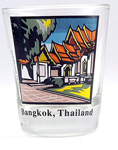 Bangkok Thailand Shot Glass