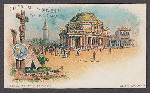 Ethnology Building Pan-American Exposition Buffalo undivided back postcard 1901 from The Jumping Frog