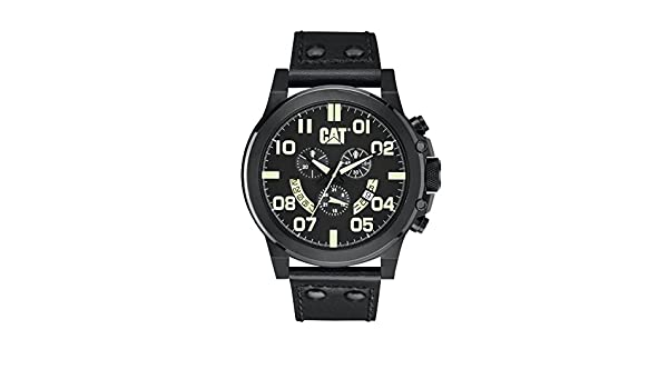 Amazon.com: Mens Caterpillar CAT Chicago Chronograph Watch PS.163.35.134: CAT WATCHES: Watches