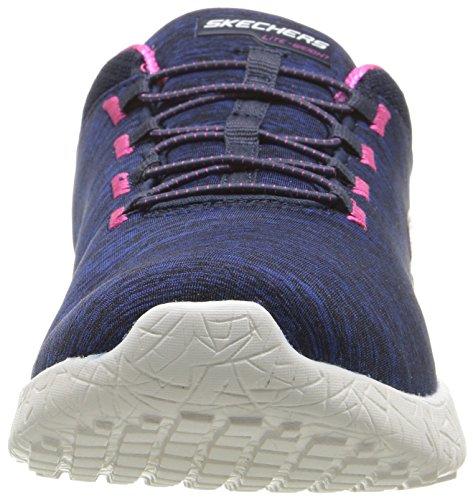 SkechersBurst Equinox - Zapatillas de running mujer Azul