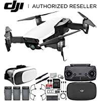 DJI Mavic Air Drone Quadcopter (Arctic White) Virtual Reality Experience Ultimate Bundle