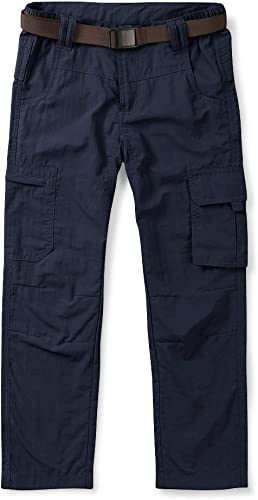 Phorecys Kids Boys Youth Hiking Pants Outdoor Zip Off Travel Safari Quick Dry Lightweight Trousers Age of 3-12