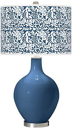 Regatta Blue Gardenia OVO Table Lamp - Color + Plus ()