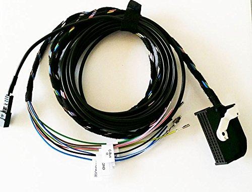 Bluetooth Juego de cables para tel/éfono Preparaci/ón AM RNS-E