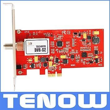 Tarjeta MU TBS6922SE DVB-S2 PCIe Sintonizador de TV para ver ...