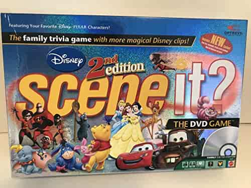 2nd Edition Disney Scene It DVD Game
