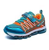 Zarbrina Boys Sneakers Air Cushion Velcro School Athletic Running Tennis Shoes (Little Kid/Big Kid)