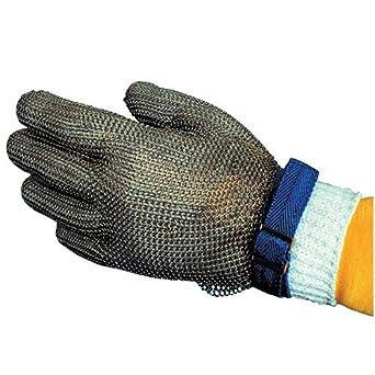 Amazon.com: saf-t-gard Guante de malla de acero inoxidable ...