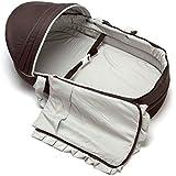 LLZJ Baby Crib Portable Folding Infant Travel Cots Nursery...