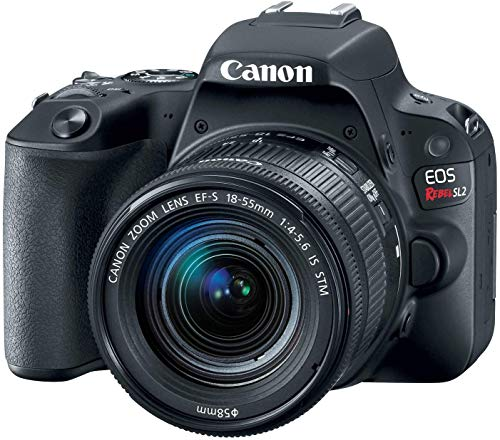 Canon EOS Rebel SL2 DSLR Camera with EF-S 18-55mm STM Lens – WiFi Enabled (US Model)