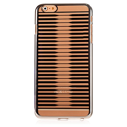 Many Line Crystal Clear Slim Fit Iphone 6 Plus Case Back Panel and Crystal Clear Front Panel Transparent Case for Iphone 6 6s 5.5 Electroplating Gold Line High Quality Designer Iphone 6 Case