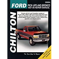 Amazon best sellers best automotive industry chiltons ford pick ups and bronco 1987 96 repair manual chiltons total car fandeluxe Choice Image