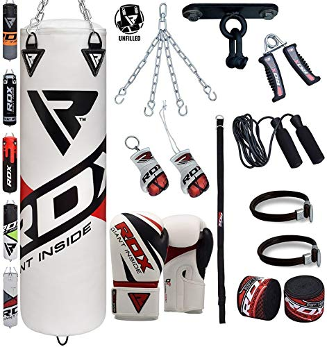 RDX Punching Bag 13 Piece Boxing Set 4FT 5FT Unfilled for sale  Delivered anywhere in USA