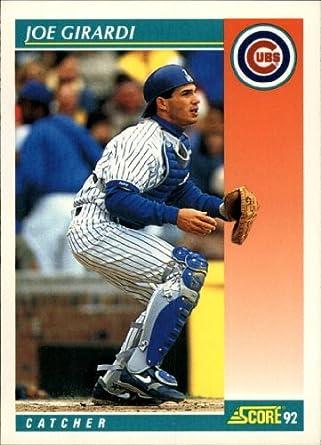 Amazoncom 1992 Score Baseball Card 701 Joe Girardi
