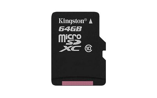 2837 opinioni per Kingston Scheda MicroSDHC/SDXC Classe 10 UHS-I, 64 GB, Velocità Minima di 10