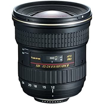 Tokina AF 12-24mm f/4 AT-X 124 Pro DX II Lens - Nikon Mount