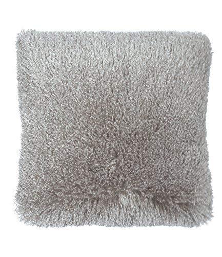Popular Bath Throw Pillow, Shaggy Collection, 18