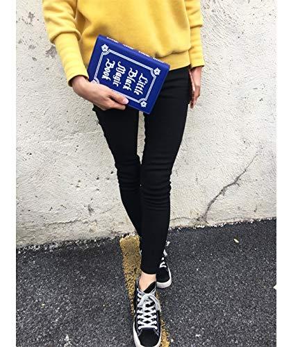Sacchetto Dell'annata Modo Della Lettera Signore Bag Libro Delle Elaborazione Messenger Quotidiana Del Frizione Di Blu Crossbody PnizunMini Dell'unità Borsa Spalla Donne rBdWCxoe