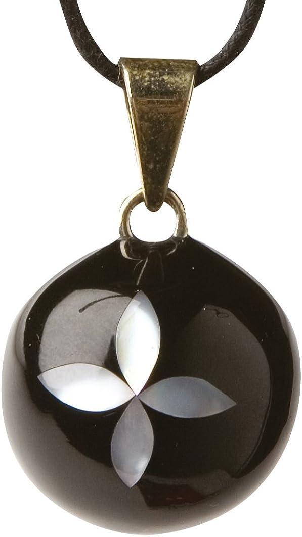 Schwangerschaftsjuwel Black /& White Bola