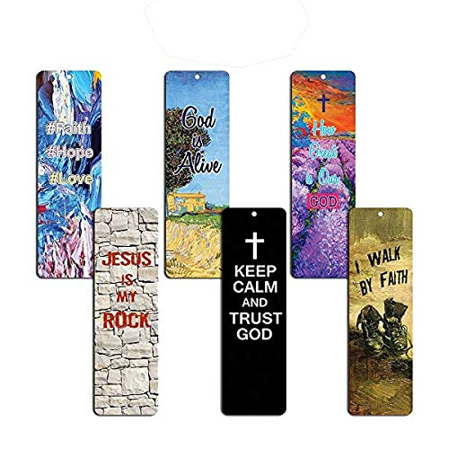 Favorite Bible Verses Bookmarks Cards (60-Pack)- Reassuring us with God's Message of Love and Hope - Prayer Cards Religious Christian Gift to Encourage Men Women Teens Boys Girls Kids NewEights