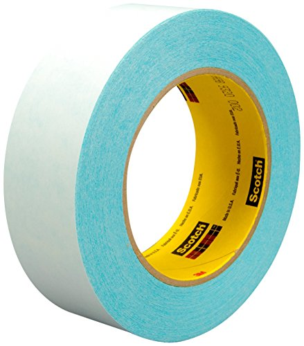 (3M 17553-case Thin Printable Repulpable Single Coated Splicing Tape 9969B, 24 mm x 55 m, Blue (Pack of 36))