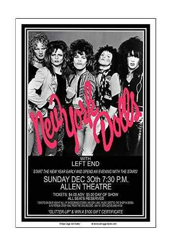 Raw Sugar Art Studio New York Dolls 1973 Cleveland Concert ()