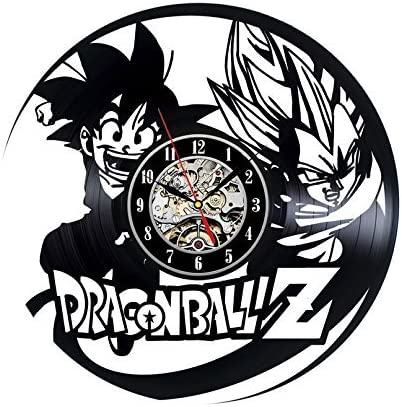 Gullei.com Dragon Ball z Popular Japanese Game Cartoon Vinyl Clock
