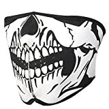 C-Pioneer Striking Skull Neoprene Half Face Mouth Mask Ski Snowboard Motorcycle Protection
