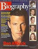 Biography Magazine July 2002 - Ben Affleck, Erin Brockovich, Gloria Vanderbilt, Willem Dafoe