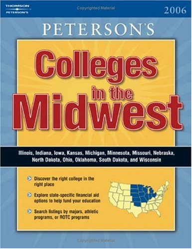 Regional Guide: Midwest 2006 (Peterson's Colleges in the Midwest)