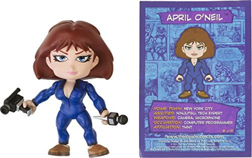April O'Neil: The Loyal Subjects Action Vinyls x Teenage Mutant Ninja Turtles Mini-Figure (RARE) ()