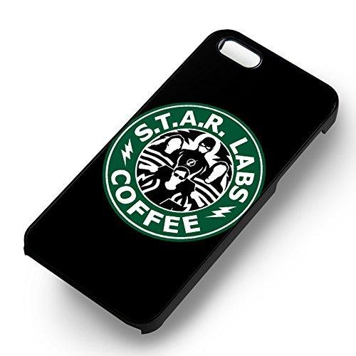 Starlabs Coffee pour Coque Iphone 6 et Coque Iphone 6s Case (Noir Boîtier en plastique dur) P8E7TT