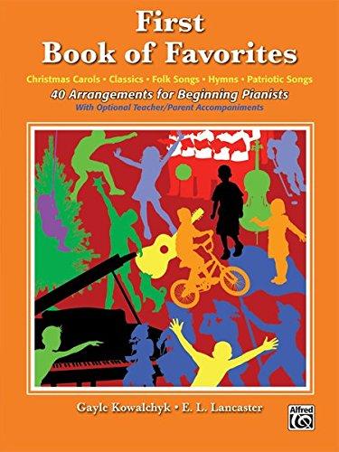 Download First Book of Favorites: 40 Arrangements for Beginning Pianists pdf