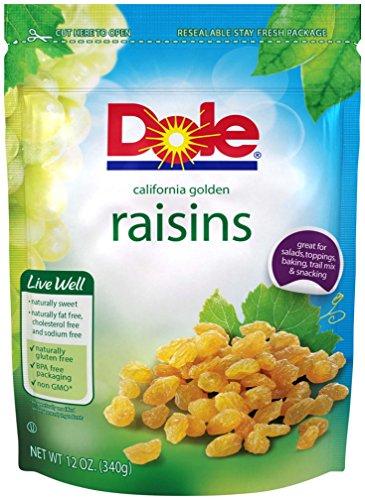 Golden Raisin - Dole California Golden Raisins, 12 ounce
