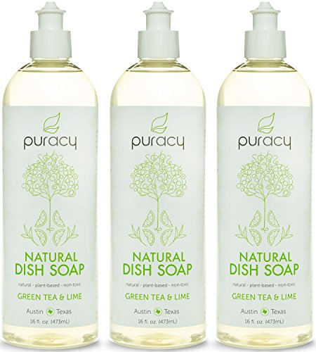 puracy-natural-liquid-dish-soap-sulfate-free-dishwashing-detergent-green-tea-and-lime-16-ounce-bottl